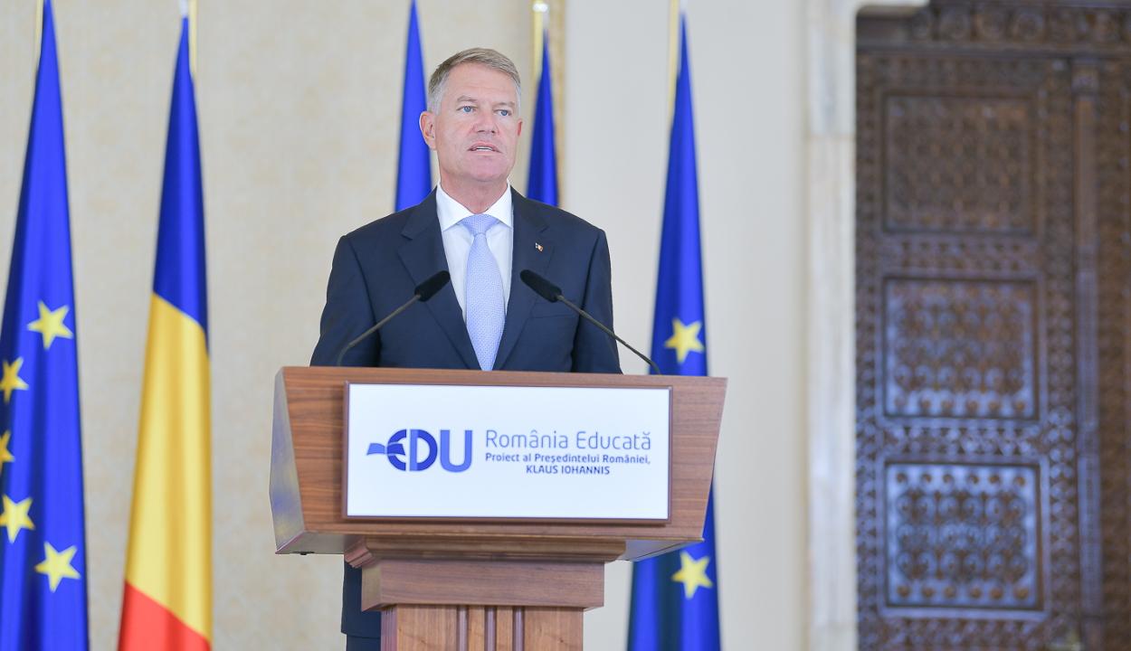 Iohannis: történelmi léptékű a Művelt Románia projekt finanszírozási keret