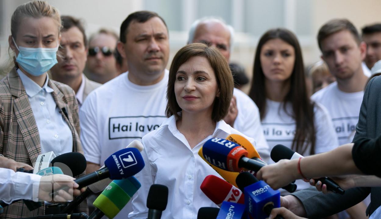 Az Európa-barát erők győztek a moldovai előrehozott választásokon