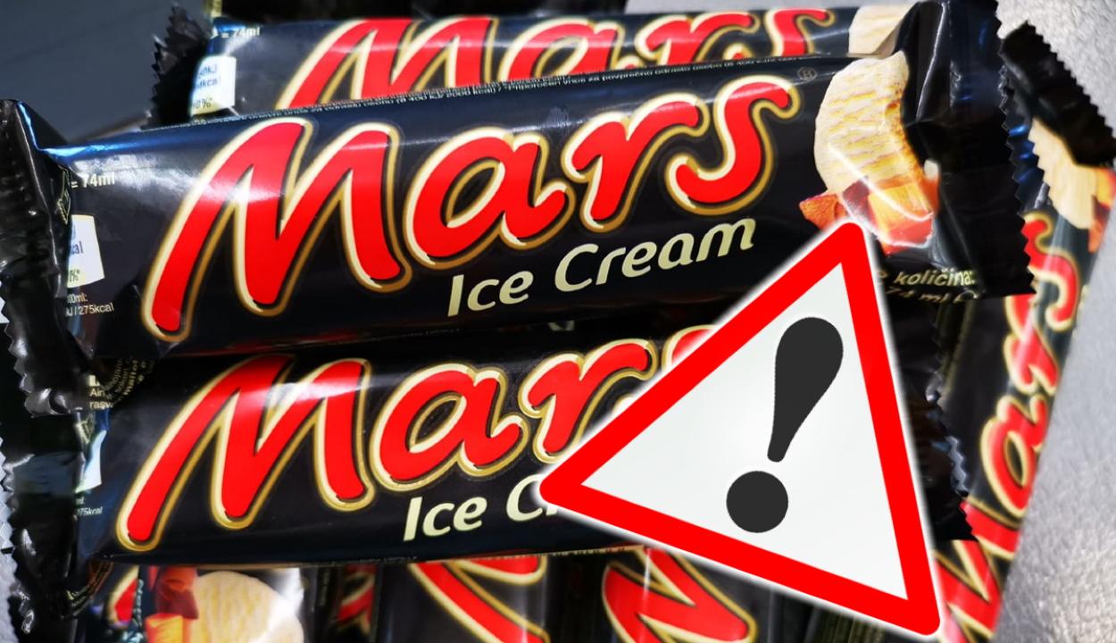 Rákkeltő anyagot tartalmazhatnak a Mars cég fagylaltjai
