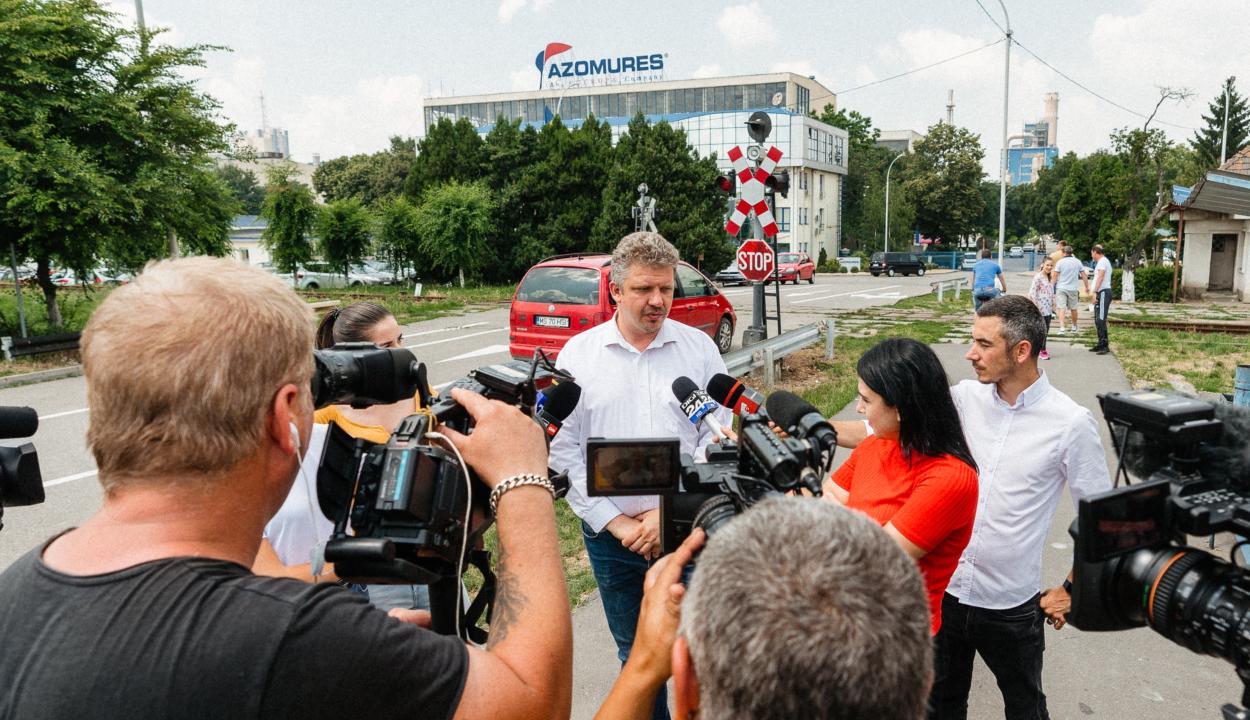 Népszavazást kezdeményez Marosvásárhely polgármestere az Azomureș vegyipari üzem sorsáról
