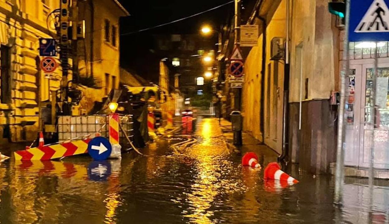 Heves vihar söpört végig Kolozsváron