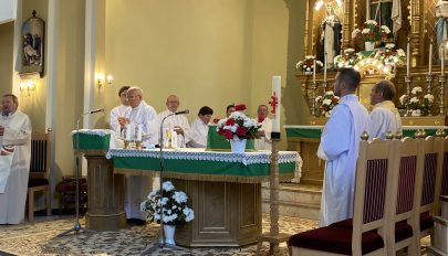 Templombúcsút tartottak Kovásznán