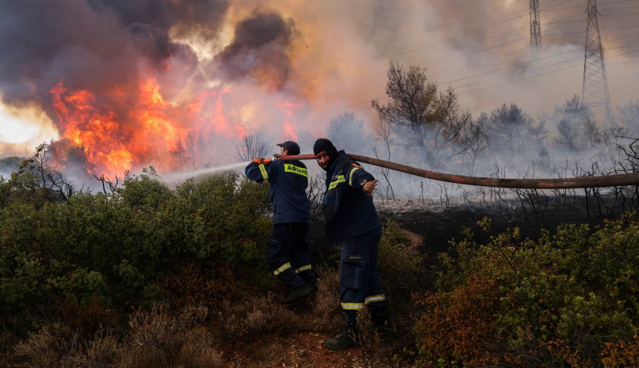 Románia segítséget nyújt Görögországnak az erdőtüzek leküzdéséhez