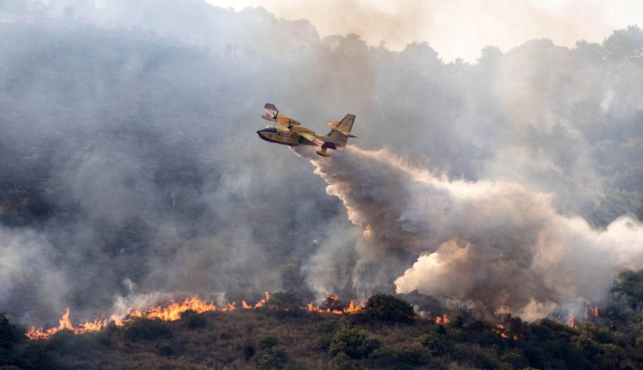 Enyhült a hőség, mégis lángokban áll Dél-Európa