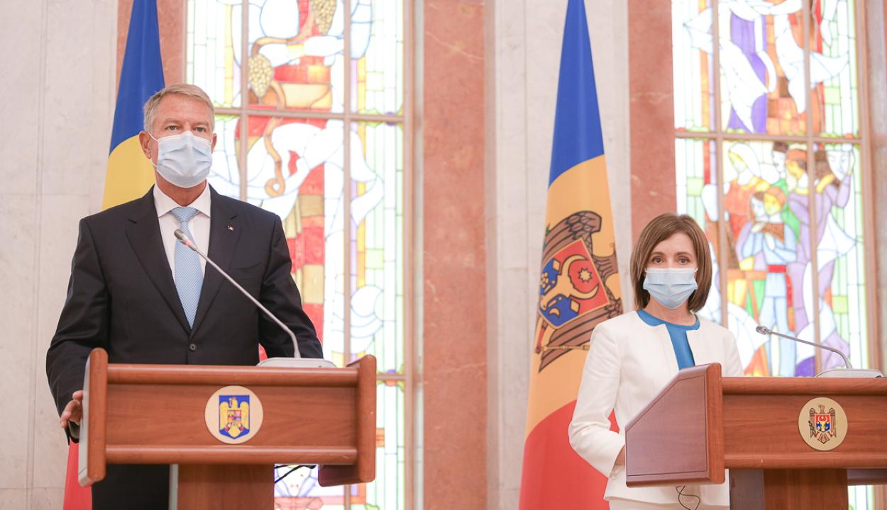 Iohannis: Románia a jövőben is a Moldovai Köztársaság legközelebbi partnere marad