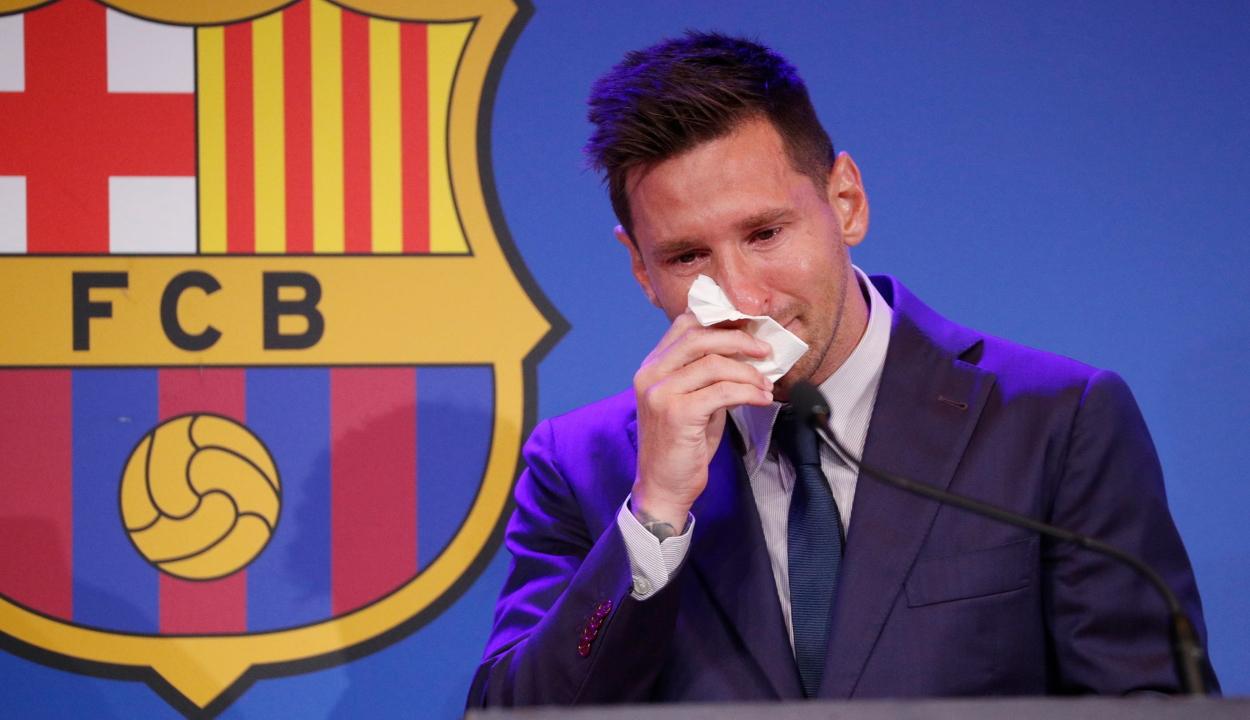 Egymillió dollárt érhetnek Messi könnyei