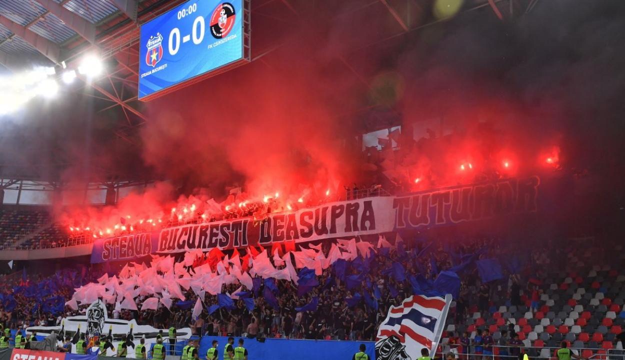 Kivizsgálja a sportminisztérium a Steaua-FK Csíkszereda mérkőzésen történt incidenseket