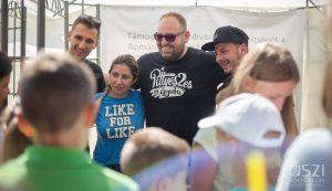 Az Ifjúsági térben több közönségtalálkozóra került sor, a legtöbben a Pittyes2-es és Gyufa humortrióra voltak kíváncsiak