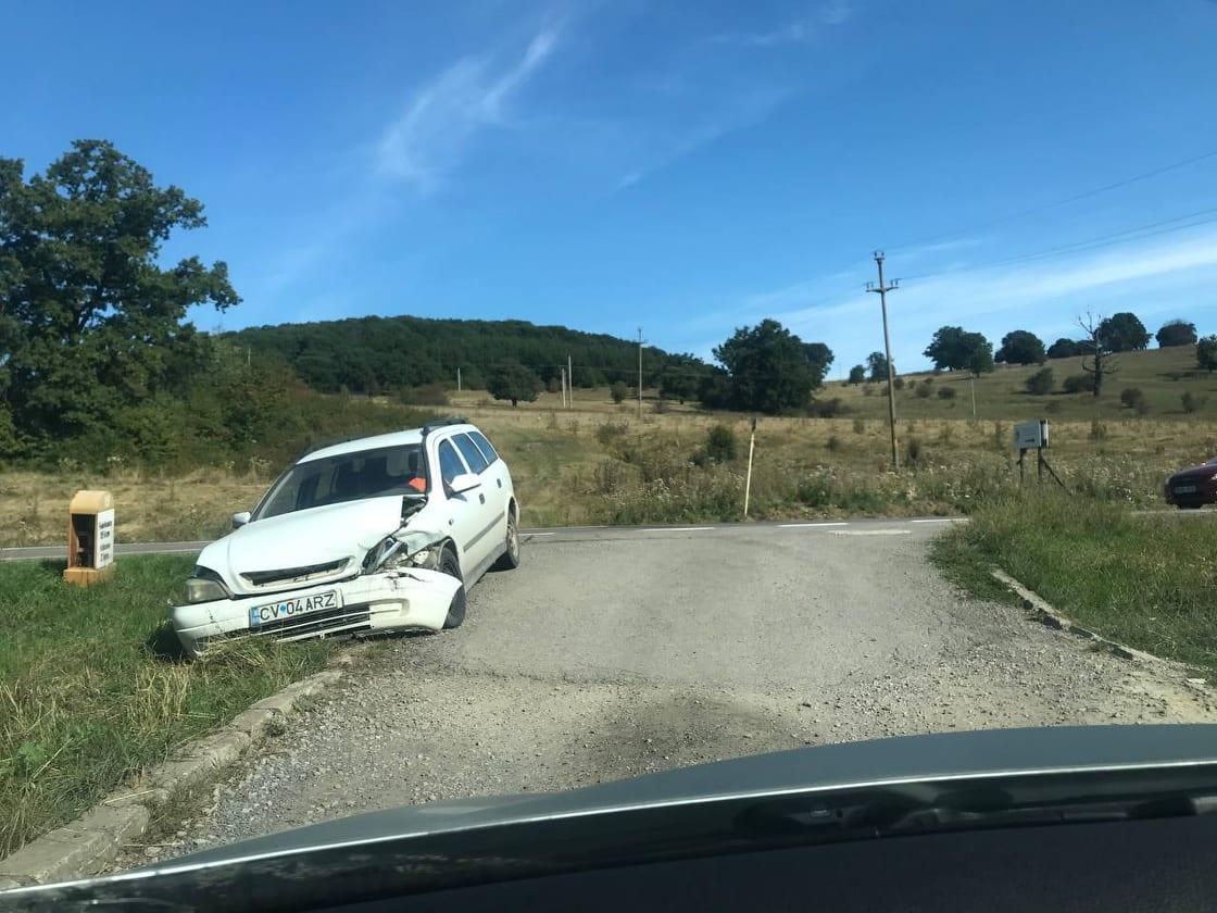 Kisebb baleset az előpataki úton