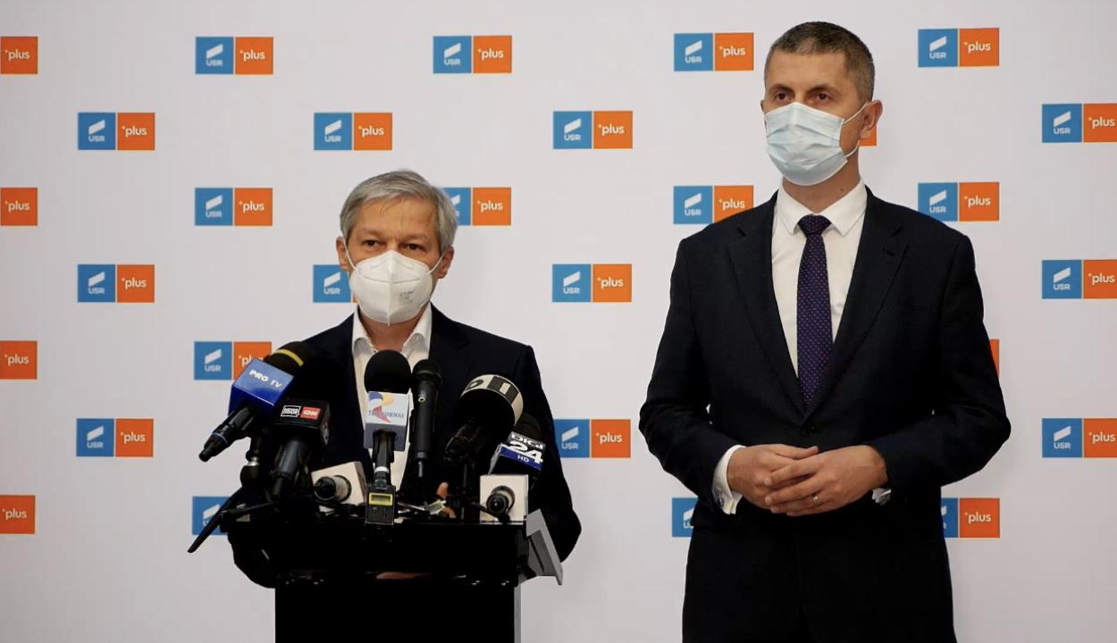 Dacian Cioloș nyerte az USR PLUS elnökválasztásának első fordulóját