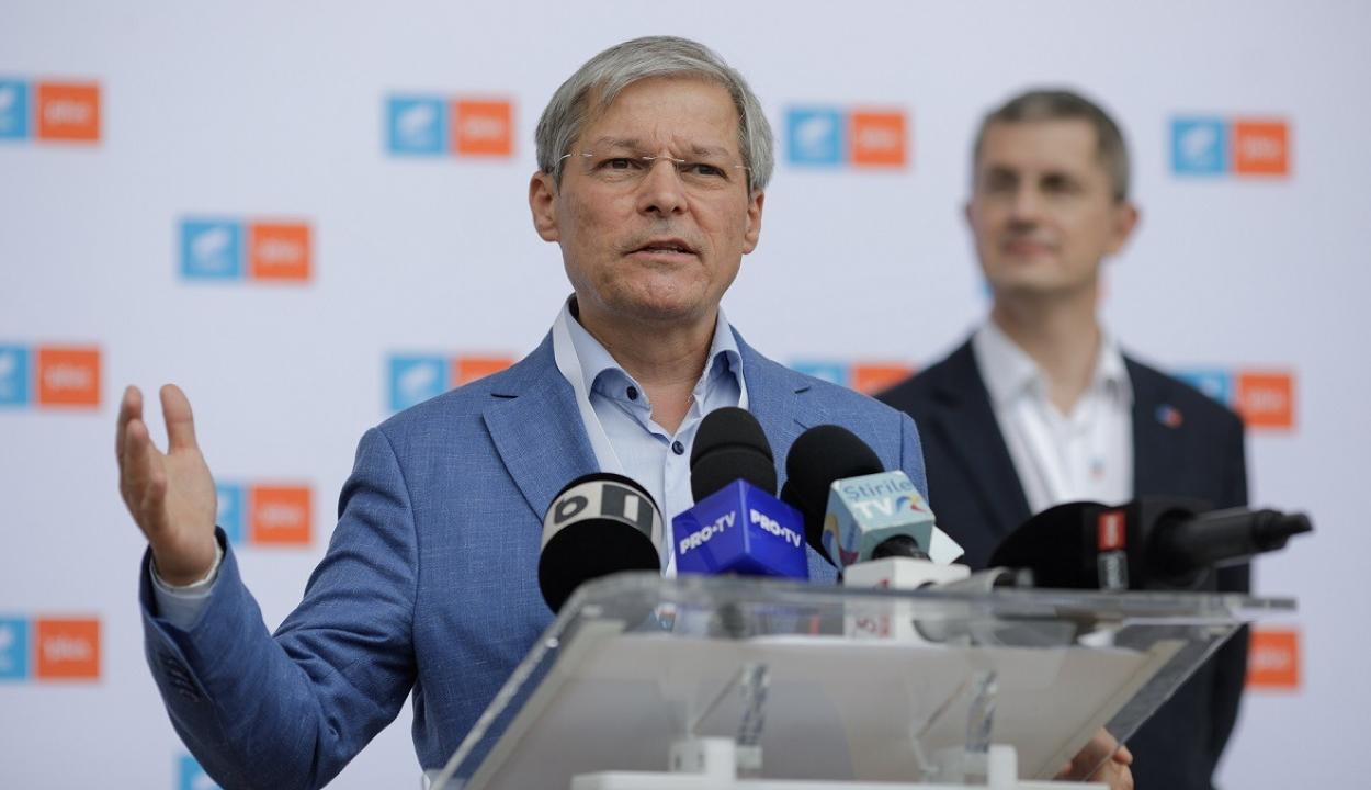 Cioloş: vagy egy PNL-PSD, vagy egy PNL-USR alkotta többség jelenti a megoldást