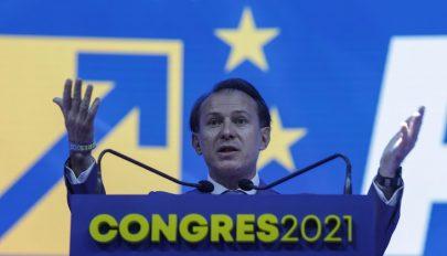 Florin Cîţu a Nemzeti Liberális Párt új elnöke