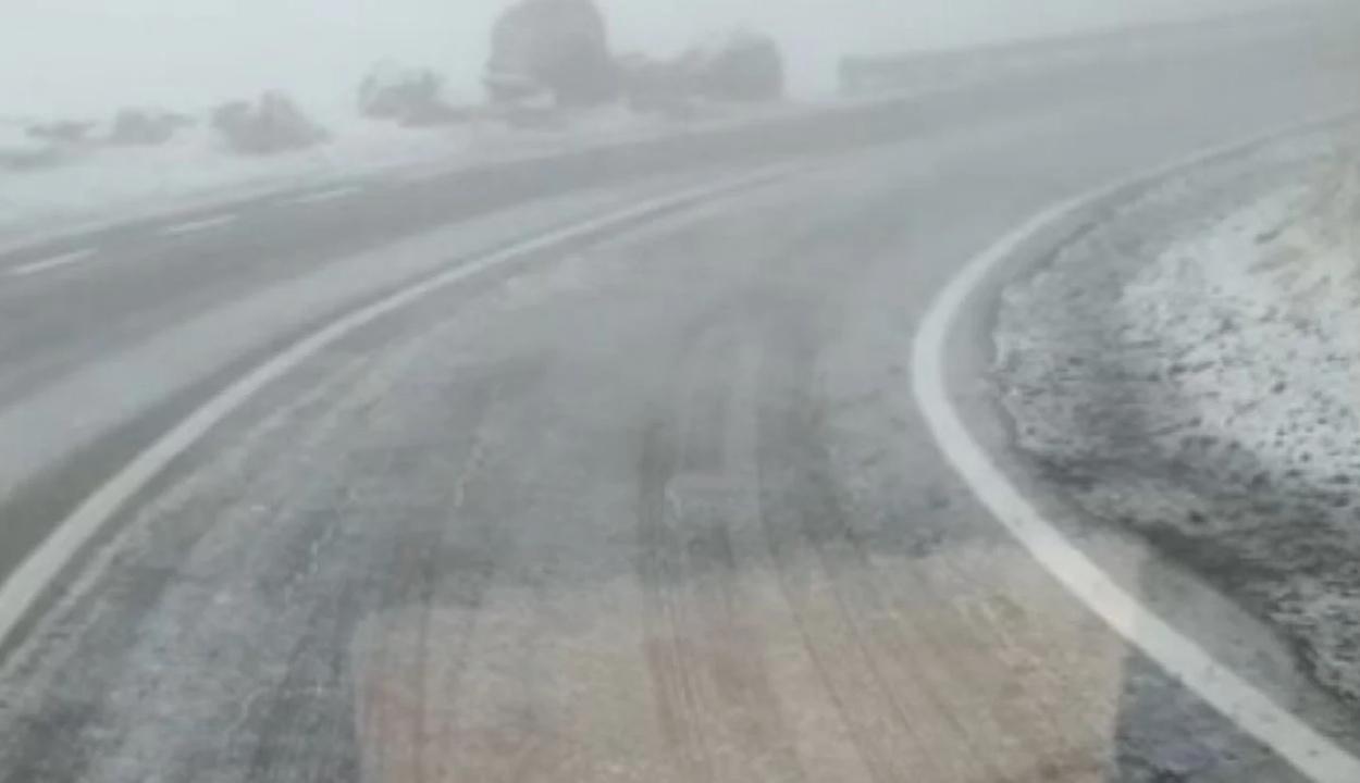 Havazott kedd reggel a Transzfogarason