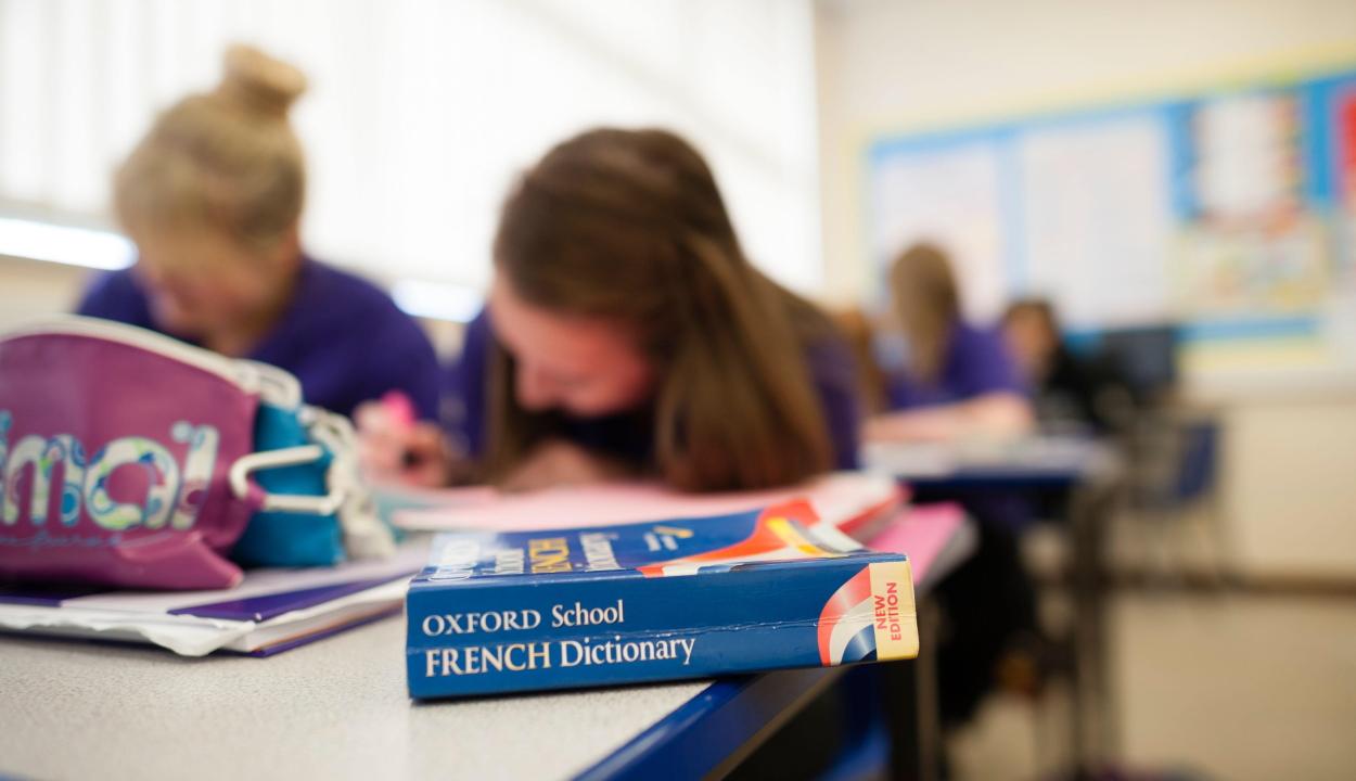Uniós viszonylatban az elsők között vannak a romániai középiskolások idegennyelv-tanulásban