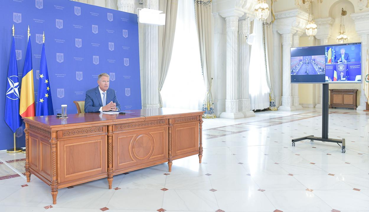 Iohannis: megtaláljuk a legmegfelelőbb megoldásokat a jelenlegi politikai válságra