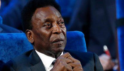 Komoly műtéten esett át Pelé, de már jobban van