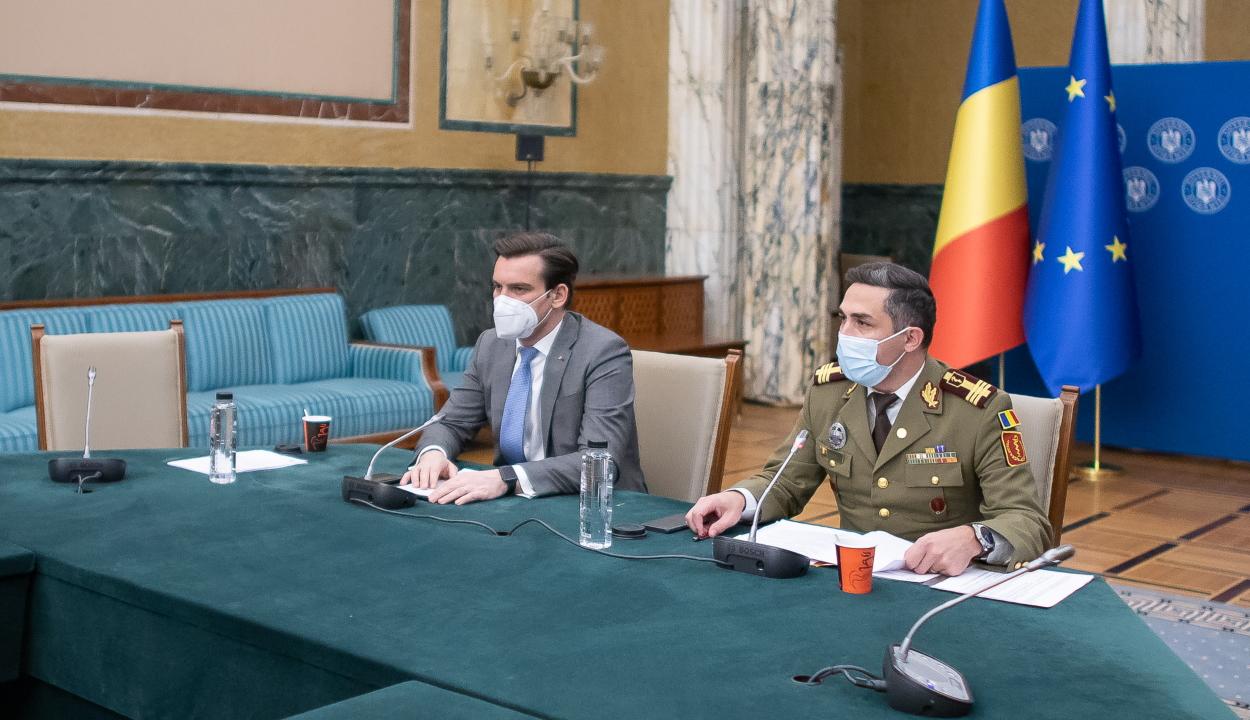 Gheorghiță: ha tartjuk a jelenlegi ütemet, év végére meghaladjuk a 70%-os átoltottságot