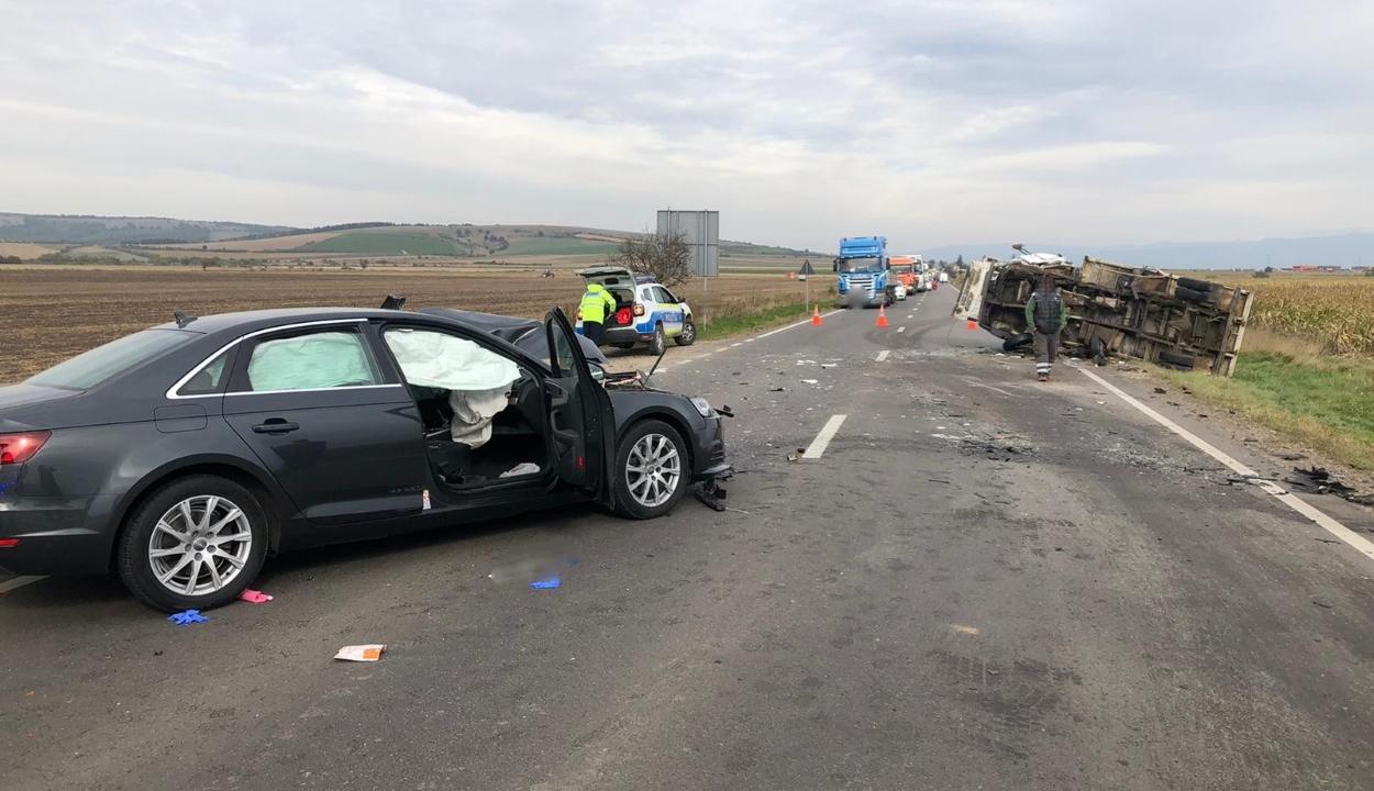 Halálos baleset Réty és Maksa között