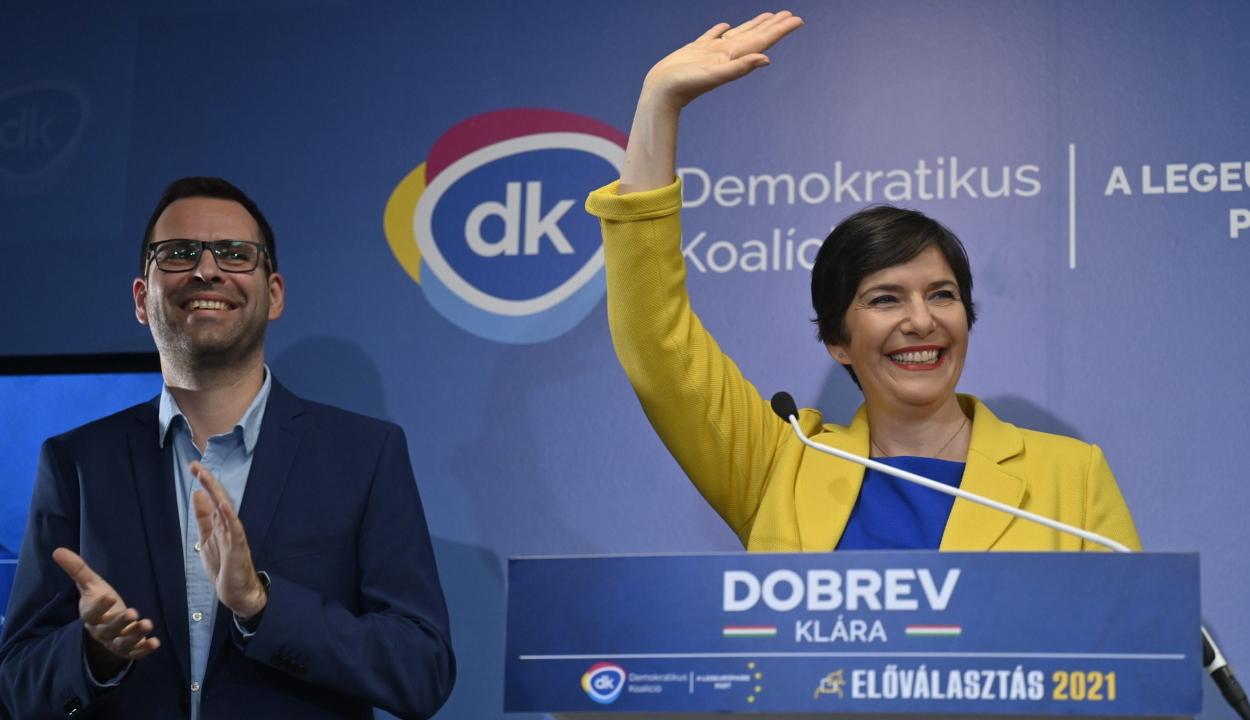 Dobrev Klára nyerte meg a baloldali előválasztás első fordulóját Magyarországon