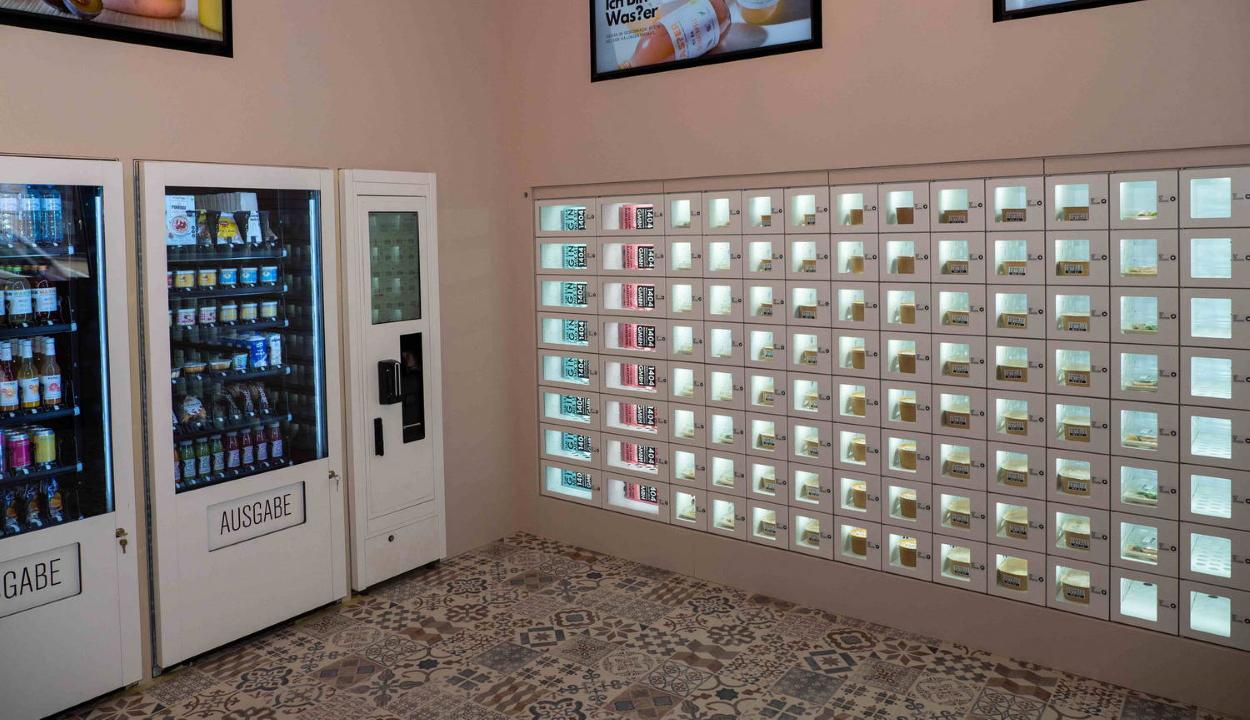 Étterem-automatát üzemeltek be Bécsben