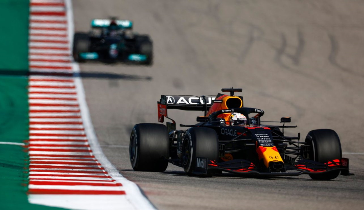 Forma-1: Verstappen nyert az Egyesült Államokban és növelte az előnyét összetettben