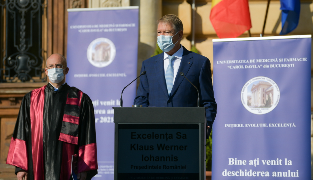 Iohannis: a koronavírus-járványt a félretájékoztatás járványa súlyosbította