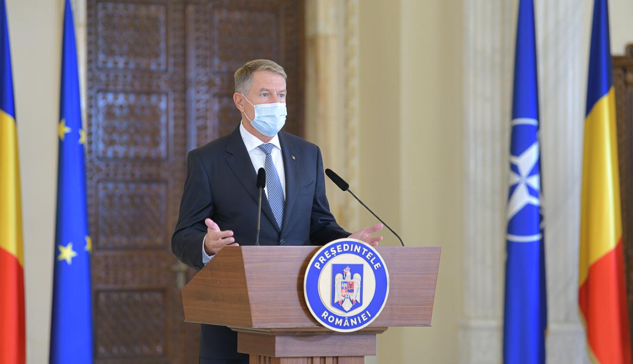 Korlátozó intézkedések bevezetését helyezte kilátásba Klaus Iohannis államfő