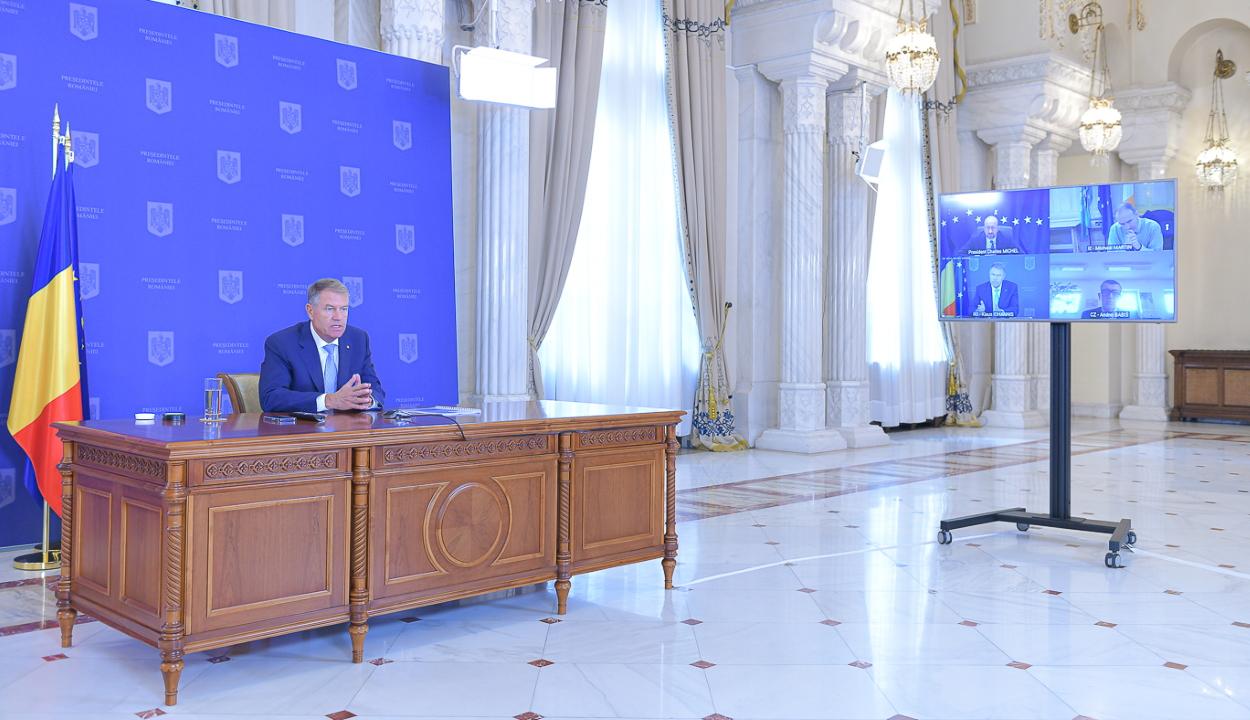 Iohannis a növekvő energiaárak kérdésének napirendre tűzését kérte az Európai Tanácstól