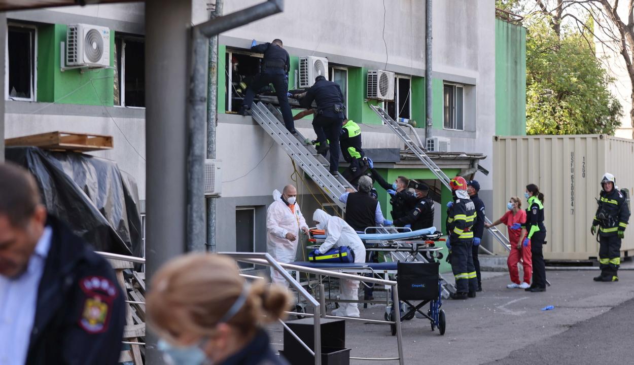 A katasztrófavédelem szerint a konstancai járványkórház elmulasztott tűzvédelmi engedélyt kérni