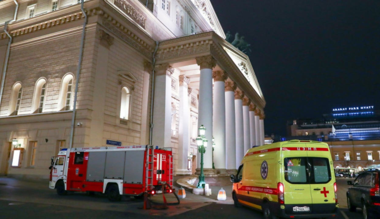 Meghalt a Moszkvai Nagyszínház egyik művésze, miután ráborult a díszlet egy darabja