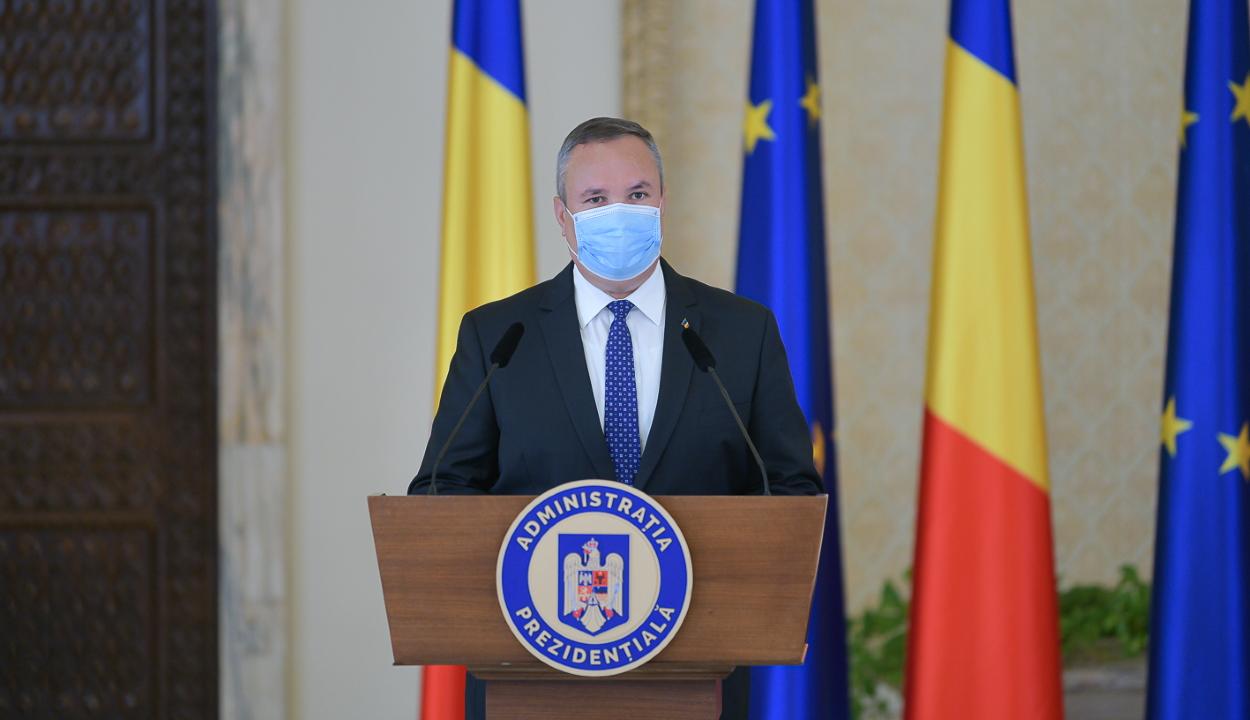 Ciucă: a PNL azzal bízott meg, hogy megoldásokat keressek egy kisebbségi kormány támogatására