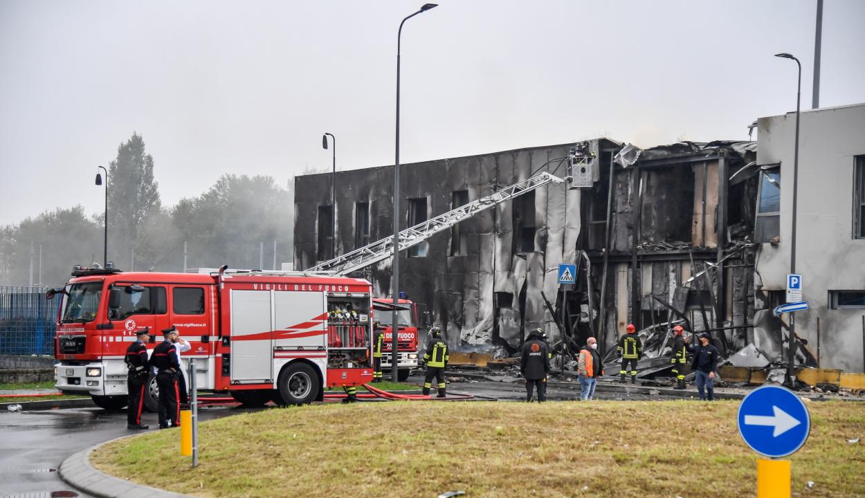 Lezuhant egy repülőgép Olaszországban, a román pilóta és a gép hét utasa meghalt