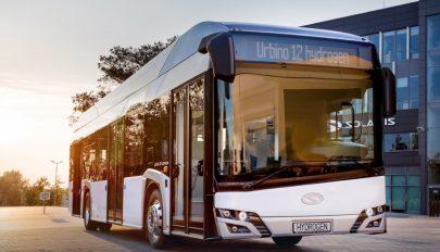 Sepsiszentgyörgyön is tesztelik a hidrogénmeghajtású Solaris-autóbuszt