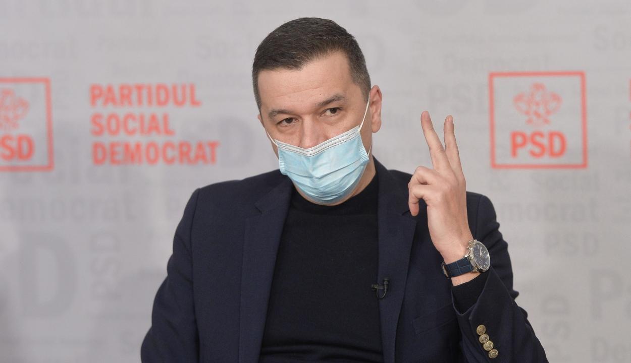 Grindeanu: a PSD nevesíteni fog egy jelöltet a képviselőház elnöki tisztségére