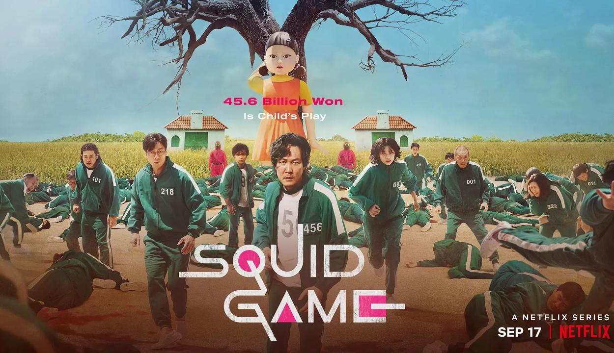 Rekordnézettséget hozott a Netflixnek a Squid Game